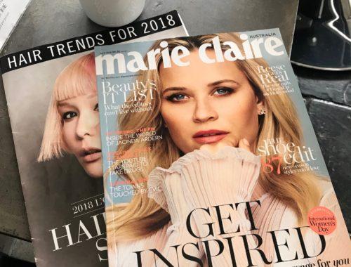 Marie Claire 2018 Hair Trends featuring FÖN SALÖN