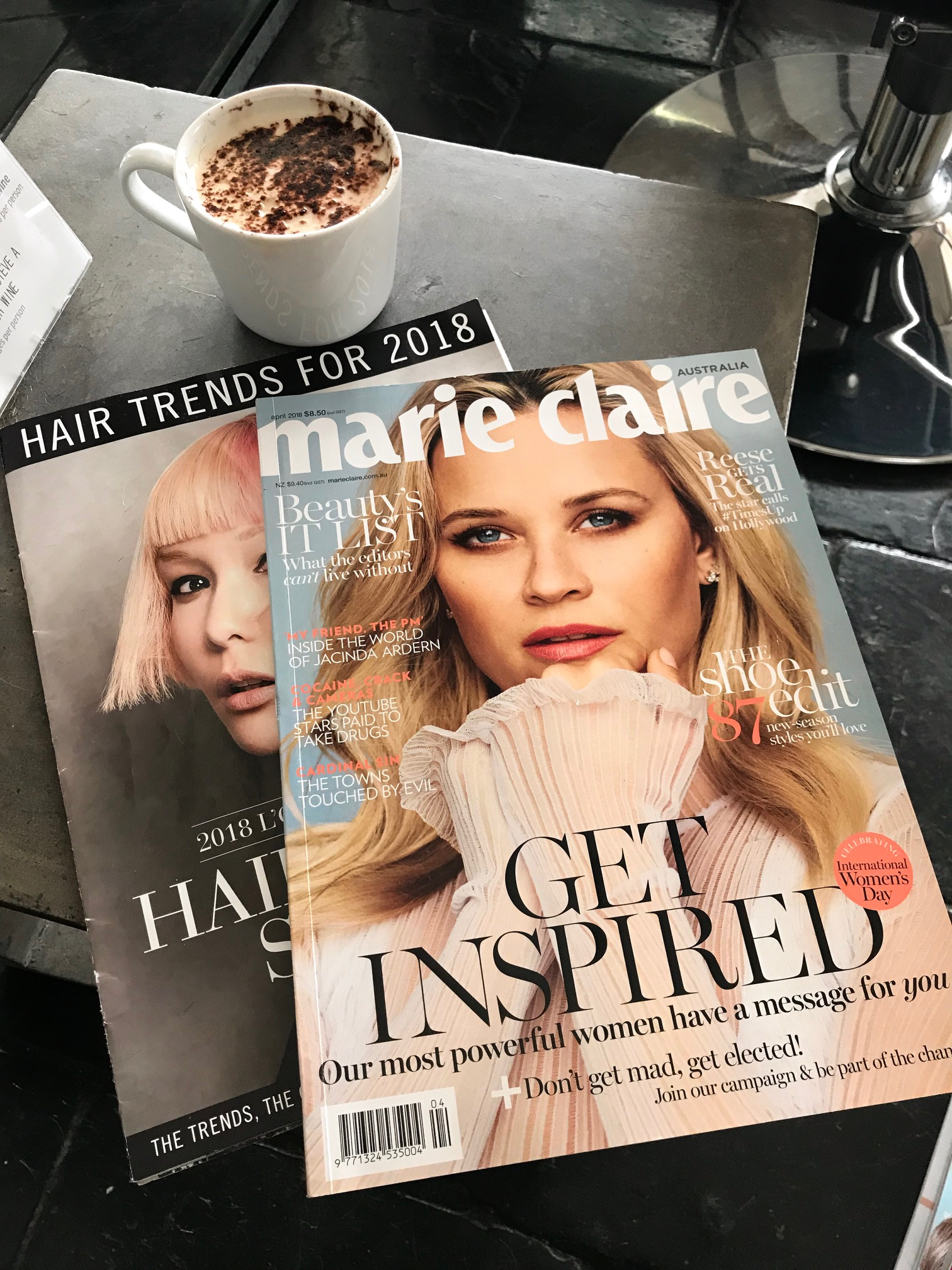 Marie Claire 2018 Hair Trends featuring FÖN SALÖN